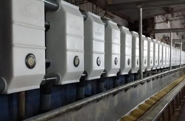 Instalamos Sistema de Alimentación Automático 30 + 30 para Kiwi Criollo en 30 de Agosto, Buenos Aires.