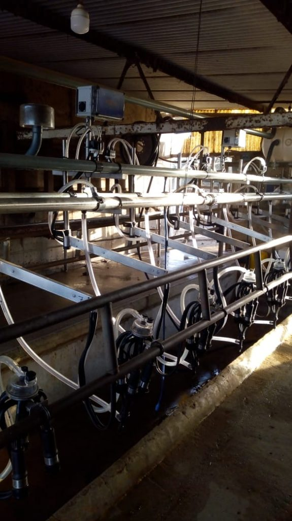 Instalamos Equipo de Ordeñe Milenium 12 bajadas con Sistema de Pulsado RG-3 en Las Varillas (Córdoba)