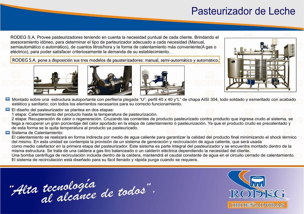Folleto pasteurizadores 2014 CURVAS Hoja 1