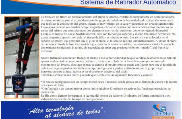 Sistema de Retirador Automático