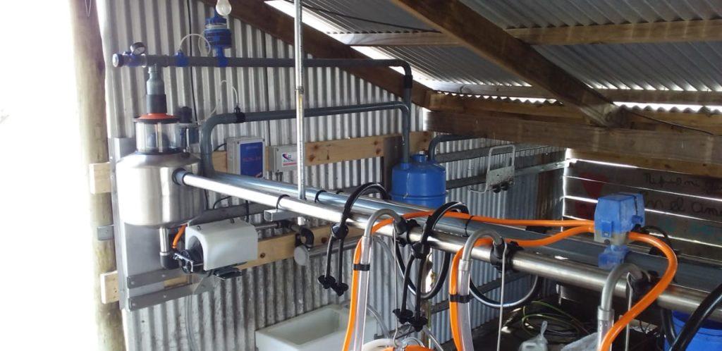Instalación de Equipo de Ordeñe para Ovejas de 6 bajadas en Pehuajó, Buenos Aires