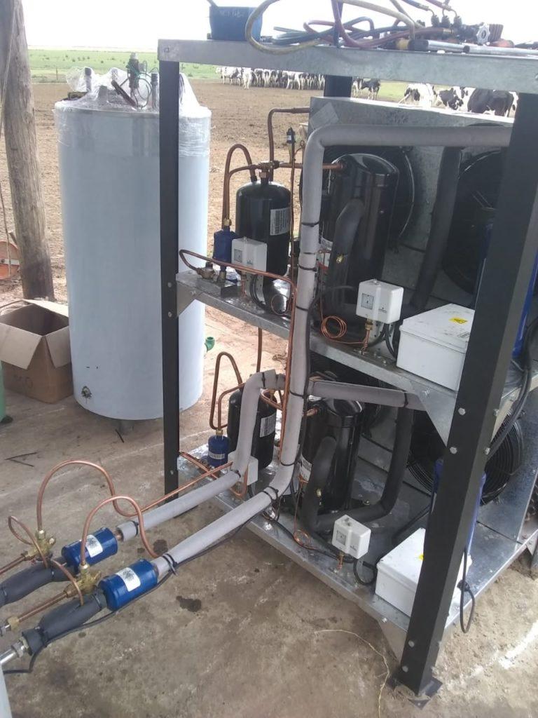 Instalación de Equipo Frío tipo Cuba de 5.300 Litros en Canals, Córdoba