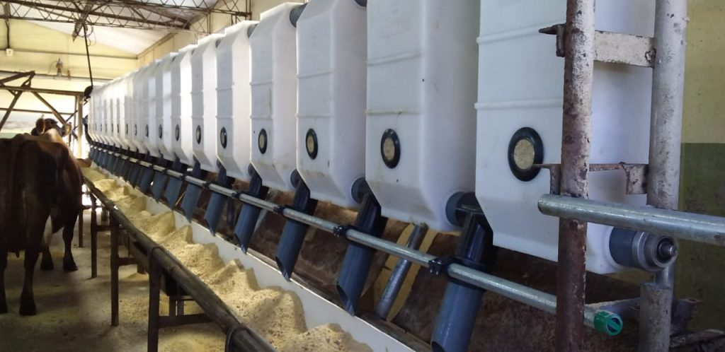 Instalamos Sistema de Alimentacion Automatico 18 + 18 en 30 de Agosto Buenos Aires