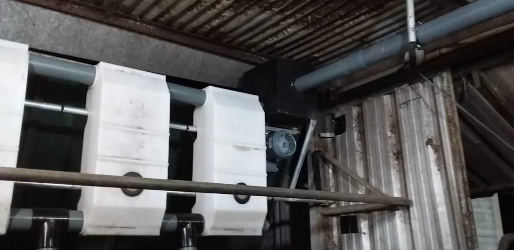 Instalamos Sistema de Alimentación Automático 18 + 18 en 30 de Agosto ( Buenos Aires )