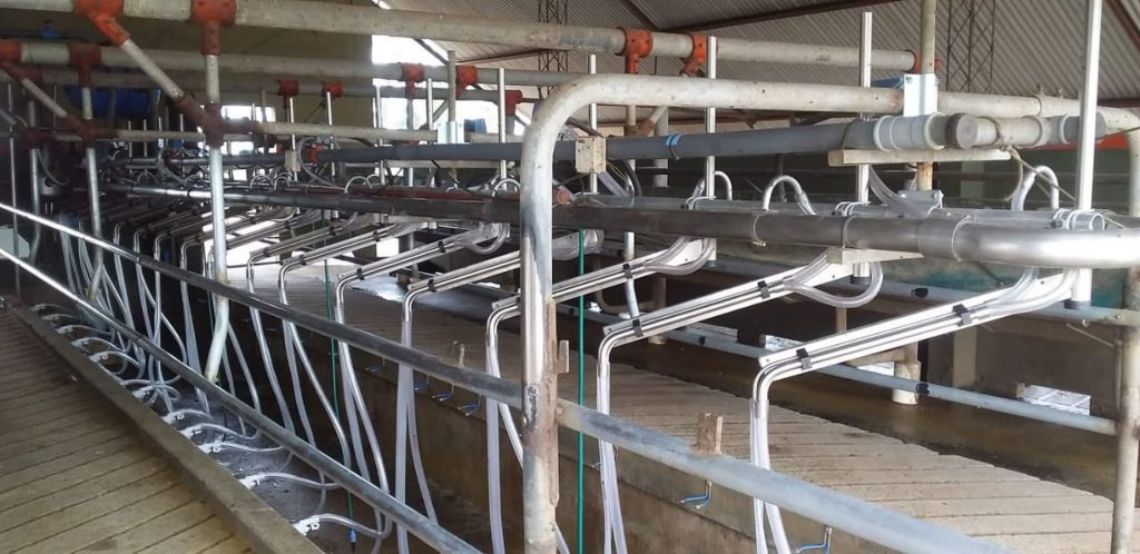 Instalamos 16 brazos de posicionamiento M18 en Freyre ( Córdoba )