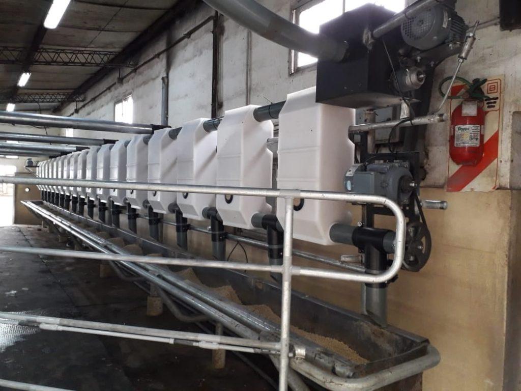 Instalamos equipo de ordeño Millenium Magna de 18 bajadas en Bolívar