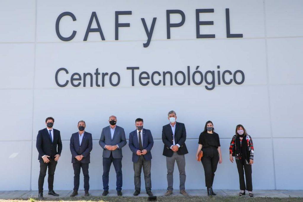 El Gobernador Omar Perotti inauguró el Centro Tecnológico de CAFyPEL